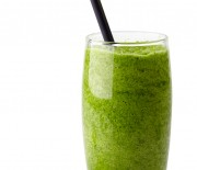 Almond Spinach Lemon and Celery Smoothie with Honey Recipe