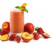 Apple Peach and Strawberry Smoothie Recipe