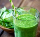 Yogurt Banana Apple and Spinach Smoothie Recipe